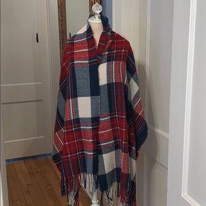 Blanket scarf/wrap/Poncho